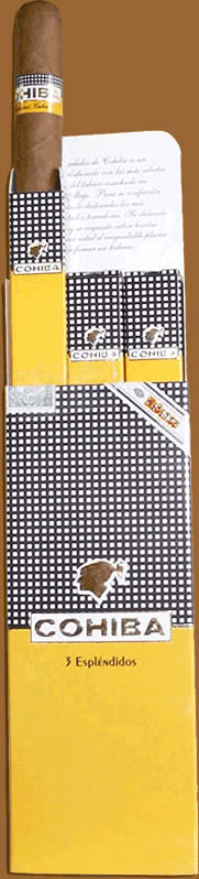 Cohiba cigars online. Esplendidos Pack Of 3